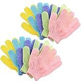 10 Stück Dusche Handschuh, Peelinghandschuhe, Scrubbing Badehandschuhe doppelseitige Bathwater...