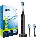 ITECHNIK Elektrische Zahnbürste Schallzahnbürste, 3.5 Stunden hält Min 30 Tage, mit 5...
