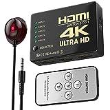 HDMI Switch 4K,WATSABRO HDMI Splitter Bi-Direction 5 In 1 Out Splitter Unterstützt...
