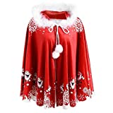 Strungten Weihnachten Kostüm Umhang Weihnachtsmann für Damen Herren Mädchen Jungen Kinder Baby...