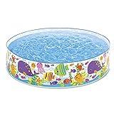 Intex Ocean Play Snapset Pool - Kinder Aufstellpool - Planschbecken -  183 x 38 cm - Fr 3+ Jahre
