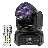 Docooler RGBW 50W Mini Stadiums Licht Lampe, Waschen Rotierenden Beweglichen Kopf B¨¹hneneffekt...