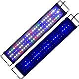 Lumiereholic Aquarien Eco Tageslichtsimulation Beleuchtung LED Aquarium voll Spectrum Reef Coral...