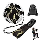 MOPOIN Fußball Kick Trainer, Solo Fußball Trainer Volleyball/Fußball Trainingsgeräte Kick Throw...