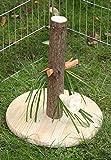 Kerbl Futterbaum Nature für Nagetiere / Kaninchen (Abwechslung, Spielzeug für Nager, Höhe 30 cm,...