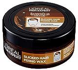 L'Oréal Men Expert Barber Club Slicked Hair Fixing Wax, Haarwax für einen starken Halt ohne zu...