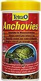 Tetra Anchovies (Wasserschildkrtenfutter, Naturfutter mit kleinen ganzen getrockneten Fischen), 250...