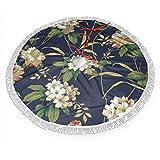 UKFaaa Weihnachtsbaum-Rock, Rhododendron, groe Weihnachtsbaumrcke mit Fransen Spitze, Textil,...