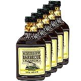 Mississippi - 5er Set Barbecue Sauce 'Original' 510 g (440ml) - American BBQ Sauce rauchig -...