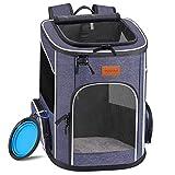 morpilot Hunderucksack, Katzenrucksack für Katzen und Hunde Welpen, Atmungsaktive und Faltbare...