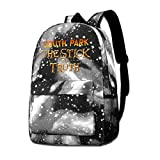 gshihuainingxianruanlius South Park Star Schulrucksack Student Fashion Unisex Teen Boy and Girl
