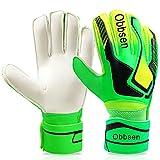 Obbsen Torwarthandschuhe für Kinder Jugendliche, Fußball Handschuhe Torwart mit Fingersave-Schutz...