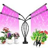 Pflanzenlampe LED, Pflanzenlicht, 40W Pflanzenleuchte, 4 Heads 80 LEDs Wachsen licht , Vollspektrum...