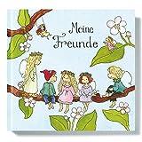Freundebuch I Freundschaftsbuch vorgefertigte Seiten zum Ausfüllen von Outi Kaden, Elfen für...
