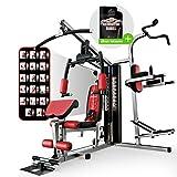 Sportstech Premium 50in1 Kraftstation mit Boxsack für EIN Allround Training |...