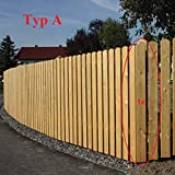 Gartenwelt Riegelsberger Premium Zaunlatte Typ A aus Lrchenholz 20x95 mm, Hhe 100 cm sibirische...
