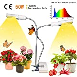 45W LED Fill Licht Clip Hose Doppelendball Full Spectrum Austauschbare Zwiebelpflanze Licht