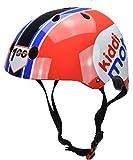 Kiddimoto Kinder Helm für Radfahren, Roller, Balancebike, Skateboard, Team Kiddimoto, Größe S...