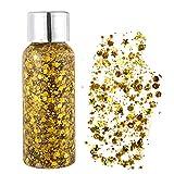 Glitter Make Up, Glitzer Gesicht, Glitzer Körper, Körperglitzer, Silber Holografischer Glitzer...