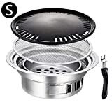 Ardentity Camping Grill Picknickgrill BBQ Grill, Holzkohlegrill Grillwagen Holzkohle Grill...