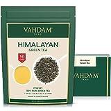 Grüne Teeblätter aus dem Himalaya 100 Gramm (50 Tassen) - Entgiftender, gewichtsreduzierter Tee,...