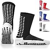 LUX Rutschfeste Fuball Socken, rutschfeste Sport Socken, Gummi-Pads, trusox/tocksox Style, Top...