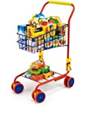 Bayer Design 7500200 - Einkaufswagen mit Inhalt, bunt