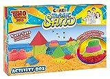 Craze 52700 - Magic Sand Activity-Box., ca. 700g Verschiedene Ausführungen. Sortiert