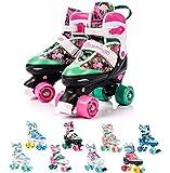 meteor Retro Rollschuhe: Disco Roller Skate wie in den 80er Jahren, Jugend Rollschuhe, Kinder Quad...