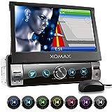 XOMAX XM-VN764 Autoradio mit Mirrorlink, GPS Navigation, Navi Software, Bluetooth...