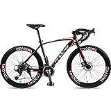 Erwachsene Fahrrad -700C Räder, 21/24/27 Gang Bike, Kohlenstoffreicher Stahl Citybike, City Utility...