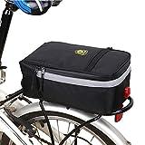 XGZ Fahrradtaschen Gepcktrger, Multifunktions Rahmentasche fr Gepcktrger Elektrische Fahrrad...