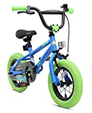 BIKESTAR Kinderfahrrad fr Mdchen und Jungen ab 3-4 Jahre   12 Zoll Kinderrad Kinder BMX Freestyle  ...