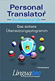Personal Translator Professional 20: Preisgekröntes Übersetzungsprogramm mit 7 Sprachpaaren:...