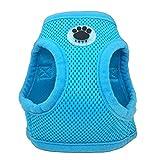 zhuangxiang Hunde Geschirr Brustgeschirr Verstellbare Weiche Nylon Mesh Small Dog Harness Pet...