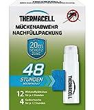 Thermacell Mückenabwehr Nachfüllpackung für 48 Stunden (12 Wirkstoffplättchen und 4...