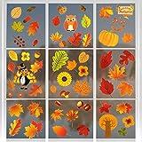 Bluelves Erntedankfest Fensteraufkleber, Herbst Fensterbilder, Thanksgiving Fenster Aufkleber, ohne...