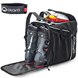 Otaro ® Skischuhtasche - Classic - Grau/Schwarz