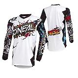 O'NEAL Element Jersey Fahrrad & Motocross Ausrüstung Unisex Erwachsene M weiß