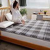 Traditionelle japanische Boden Futon Matratzen Isomatte, Tatami Mat Faltbare Roll-Up Matratze -...