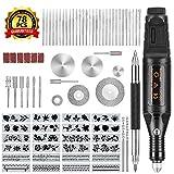 Winload Elektrische Gravurstift, 78 stck Gravur Werkzeug Set, Elektro Graviergert mit Scribe, 52...