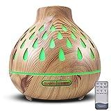Duftöldiffusoren,Aroma Diffuser, 500ml Luftbefeuchter Ultraschall Duftlampe Atomization Elektrisch...