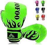 GROOFOO Kinder Boxhandschuhe für Kinder Boxsack Sparring Training, 4oz 6oz fit 3 bis 14 Jahre...