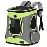 Petsfit Haustier Rucksäcke für Hunde und Katzen Faltbarer Hunderucksack Katzenrucksack mit...