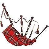 undefined Mewmewcat Schottischer Dudelsack Highland Bagpipe Mittelalter Sackpfeife Tartan Rot