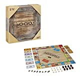 Monopoly Rustic, Sonderedition aus Holz, der Klassiker der Brettspiele