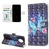 TASoker Handyhlle fr Nokia 9.1 Hlle Premium Leder 3D Flip Schutzhlle Tasche Bookstyle Brieftasche...