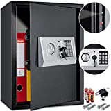 KESSER® Elektr. Tresor   50x35x34,5 XXL   Türstärke 4mm   Elektronischer Safe  ...