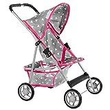 Kinderplay Puppenwagen Puppenbuggy Kinderwagen KP0280R oder KP0280S Farbauswahl Buggy Neu Baby...
