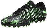 Puma Jungen Future 19.4 MG Jr Fußballschuhe, Schwarz Black-Charcoal Gray-Green Gecko, 37 EU